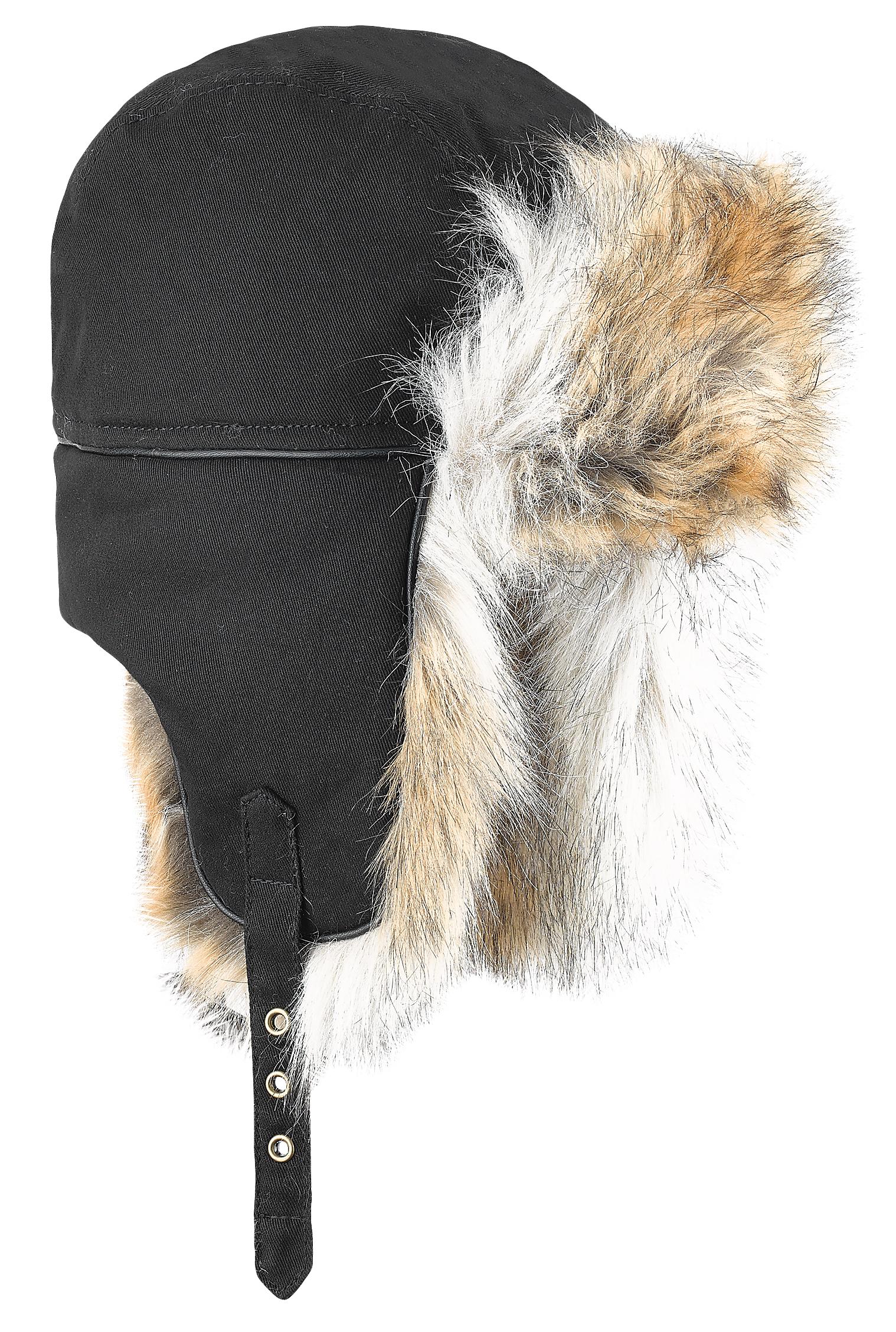 мужская шапка brekka, черная
