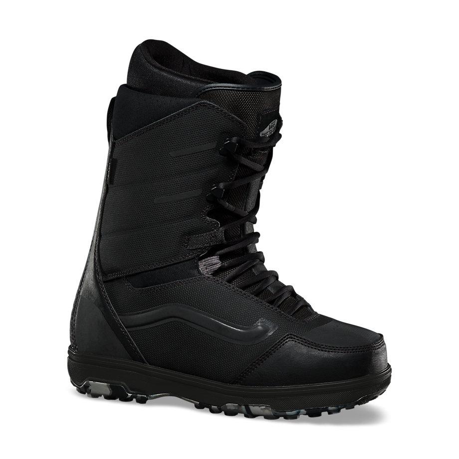 мужские ботинки vans, черные