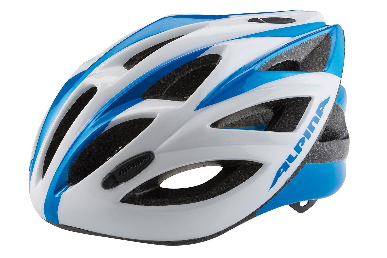 Купить Летний шлем Alpina SMU SOMO Vector white-blue, Шлемы велосипедные, 1180215