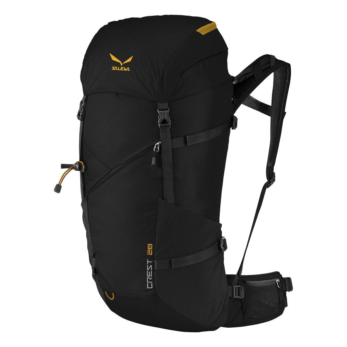Купить Рюкзак туристический Salewa Crest 28 Black Рюкзаки туристические 1241005