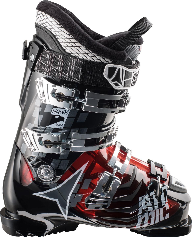 мужские ботинки atomic, черные