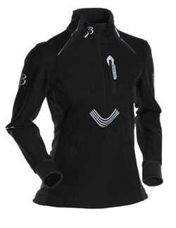 Куртка беговая Bjorn Daehlie Top DRIVE Women (Black/Phantom) черный