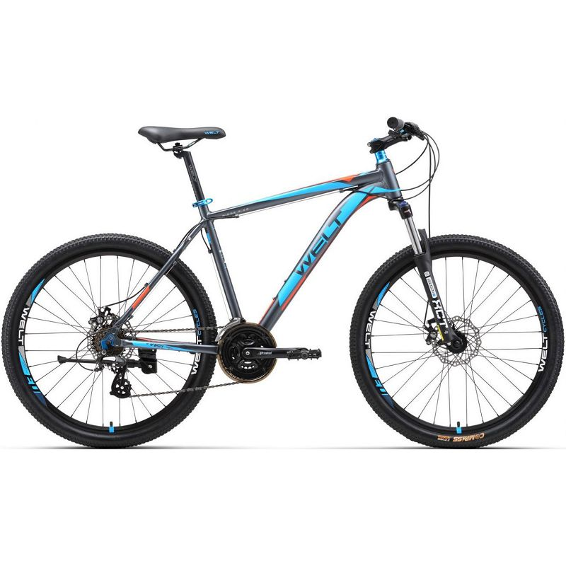 Велосипед Welt 2018 Ridge 2.0 D 29Er Matt Grey/orange/blue