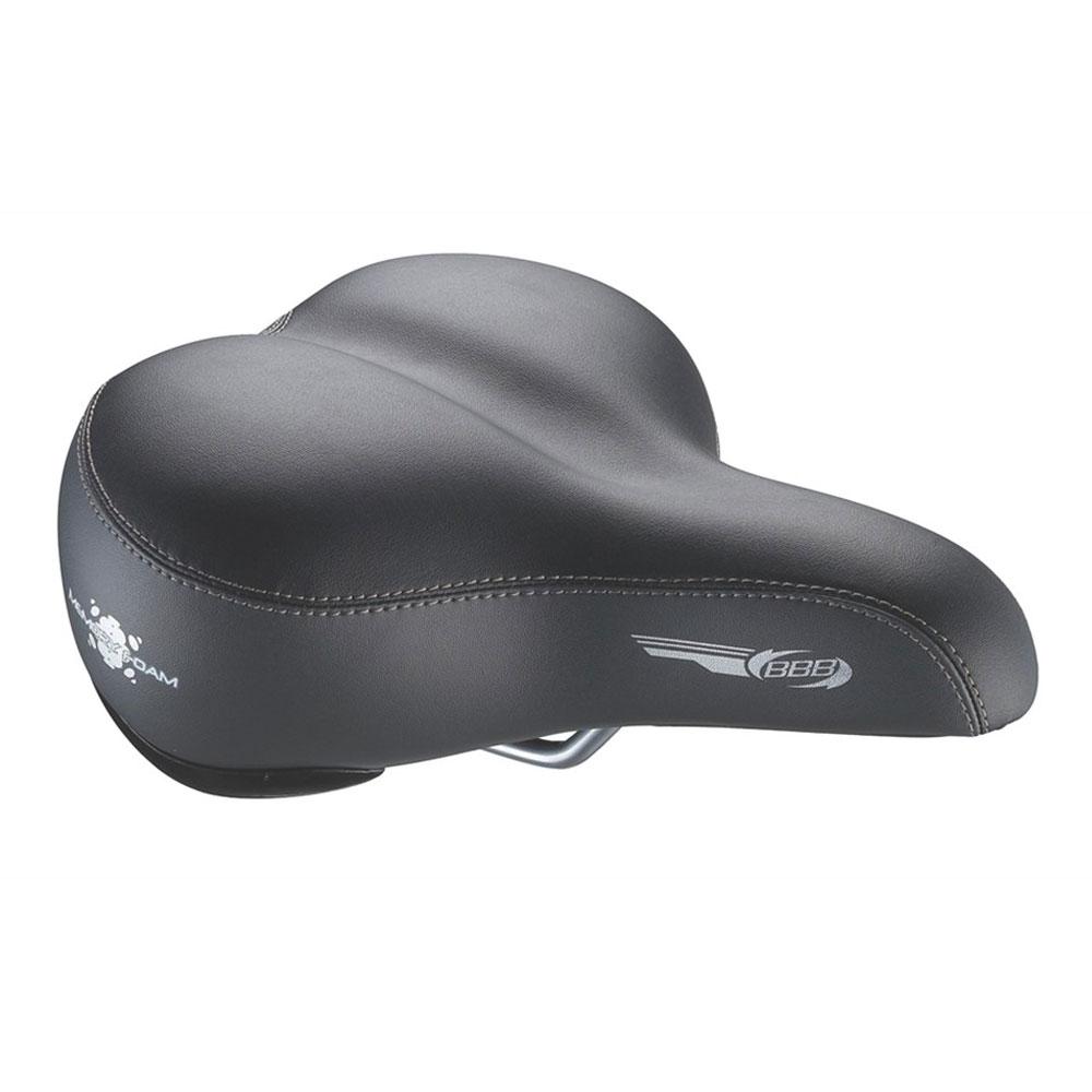 Купить Седло Bbb Softcomfort Memory Foam Basic Черный, унисекс, Седла и подседельные штыри
