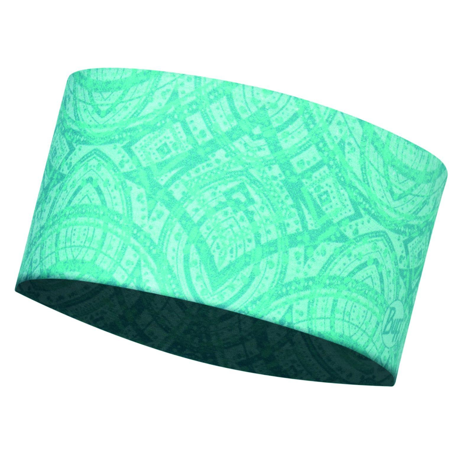Повязка BUFF Headband MASH TURQUOISE Банданы и шарфы Buff ® 1312846  - купить со скидкой