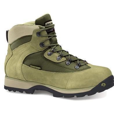 Купить Ботинки для треккинга (высокие) Dolomite 2014 Hiking GARDENA LADY green/beige Треккинговая обувь 1015676