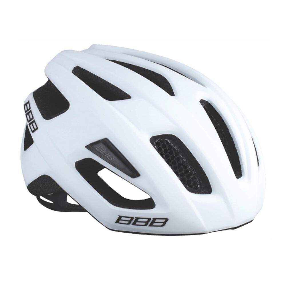 Купить Велошлем BBB 2018 Kite белый матовый, Шлемы велосипедные, 1298120