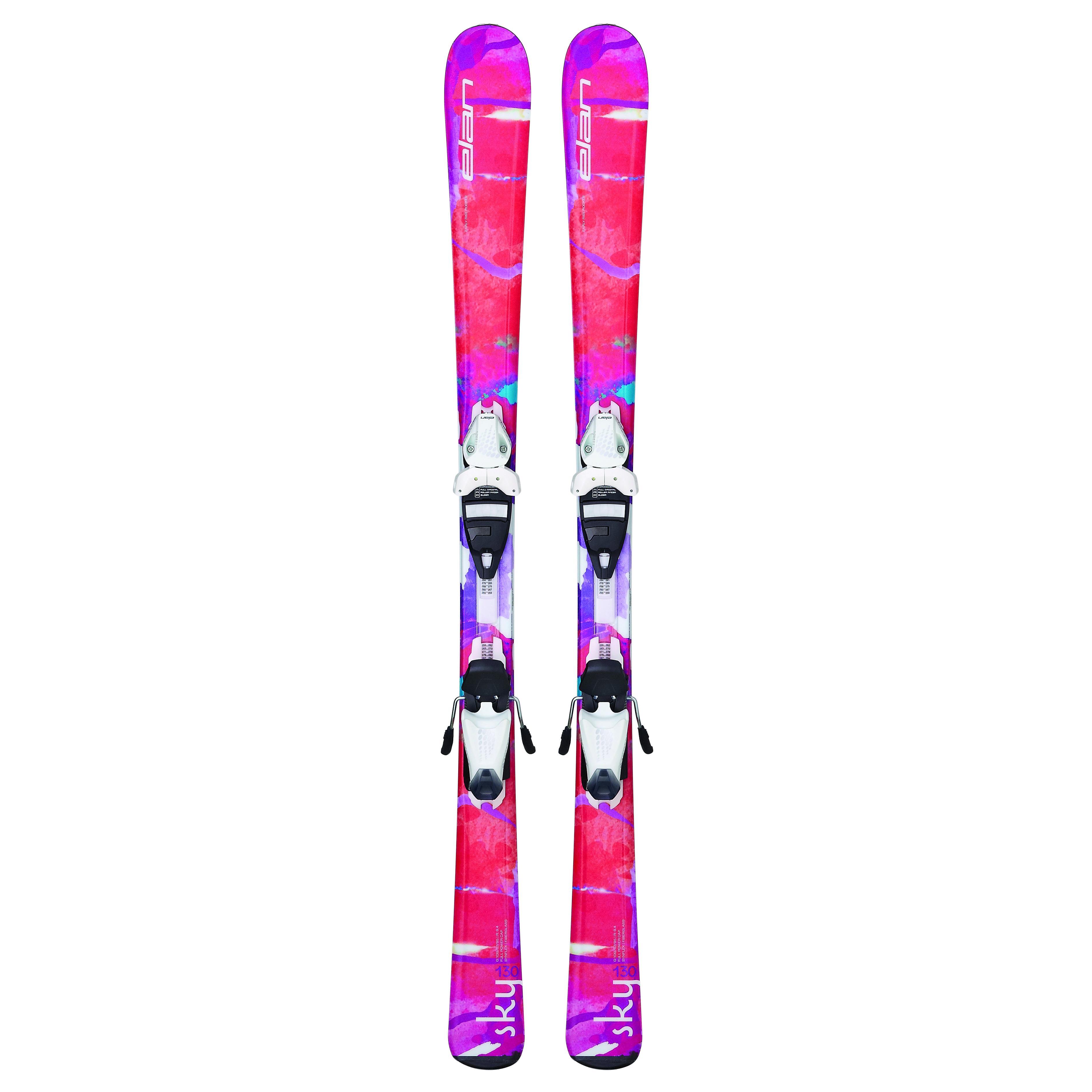 Купить Горные лыжи с креплениями Elan 2015-16 SKY QT EL 4.5 (130-150), лыжи, 1195957