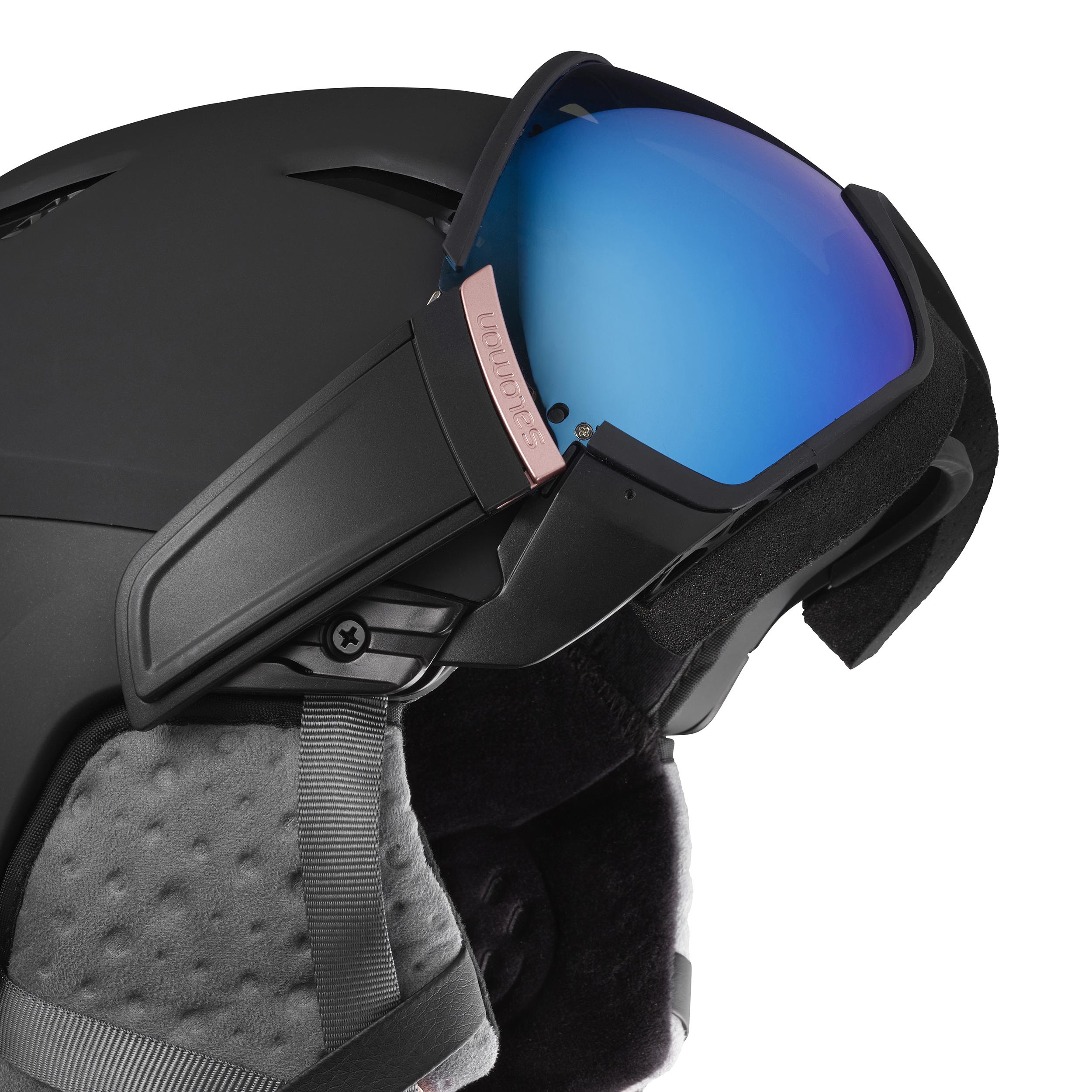 M Größe Salomon Ski Snowboard Helm MIRAGE Black//Rose Gold Damen