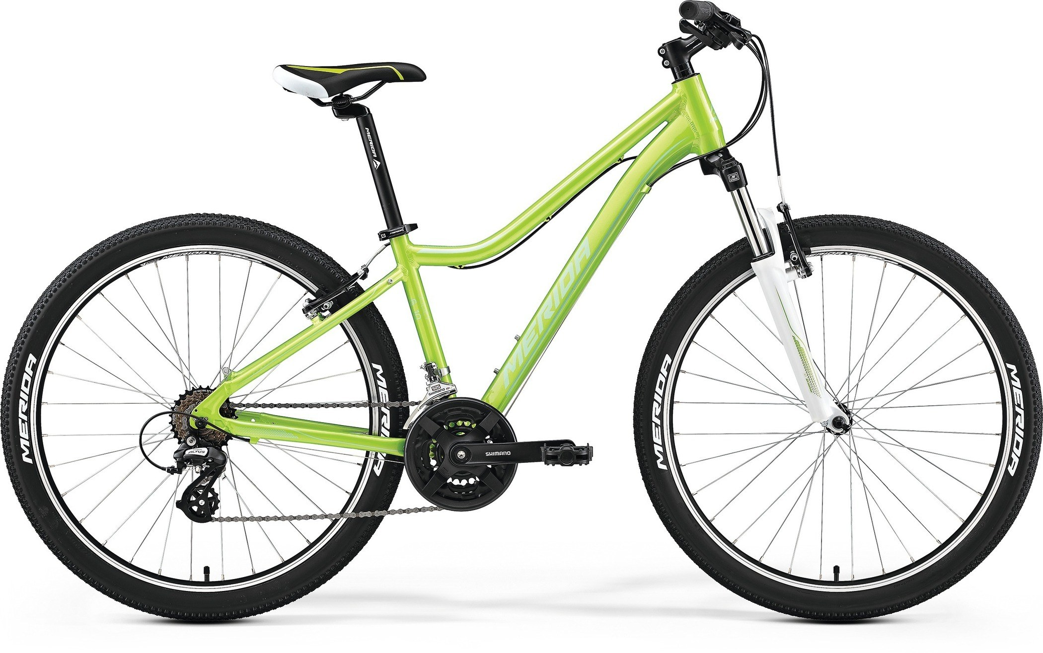 Велосипед Merida Juliet 6.10-V 2017 Green - Lite Green