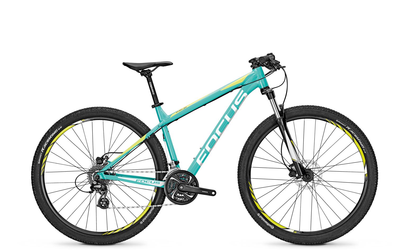 Купить со скидкой Велосипед Focus Whistler Evo 29 2017 Mediumturkis