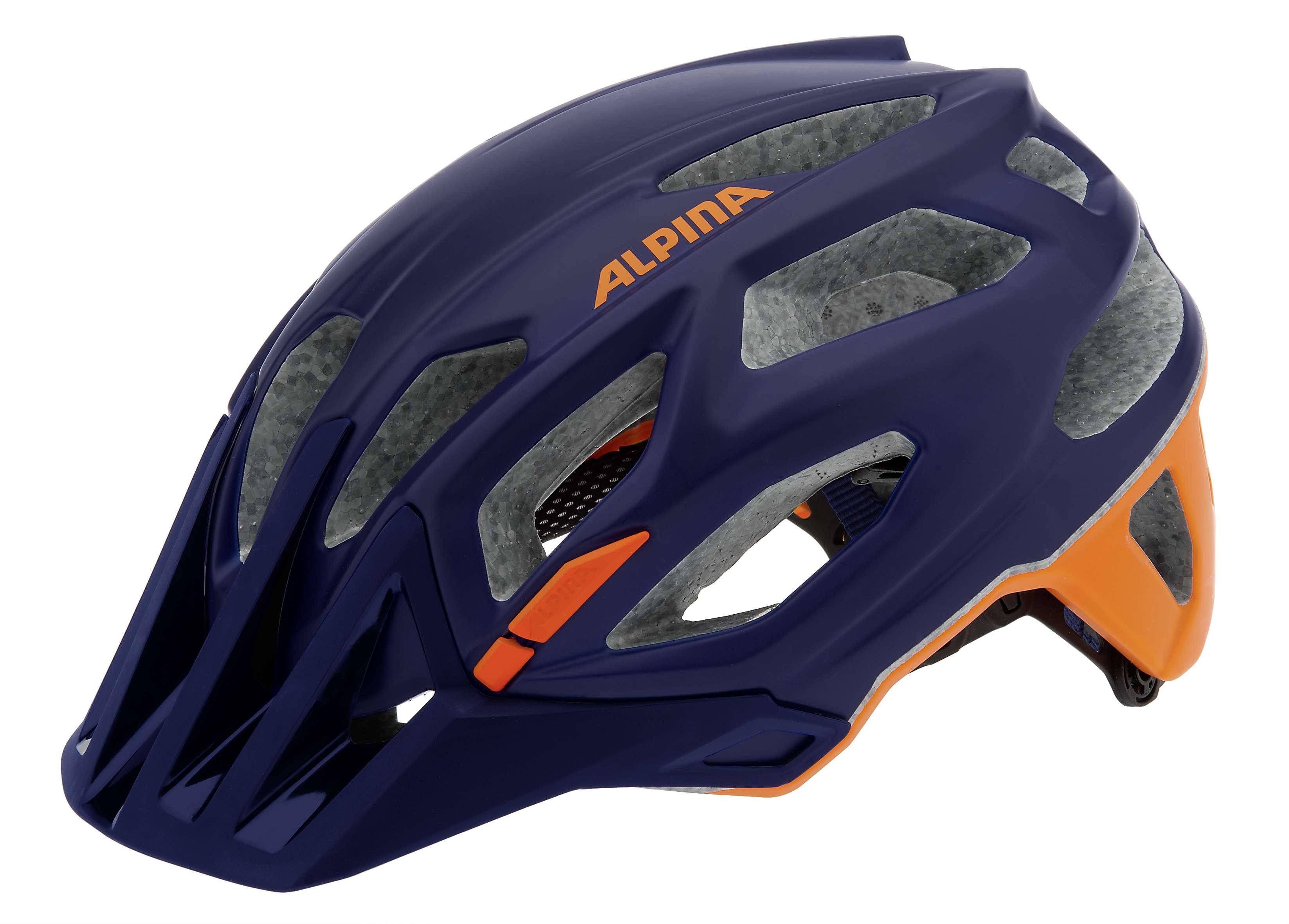 Купить Летний шлем Alpina Enduro Garbanzo darkblue-orange, Шлемы велосипедные, 1179833