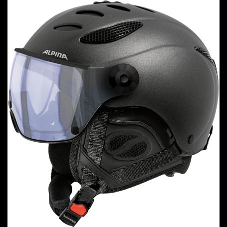 Купить Зимний Шлем Alpina JUMP JV VHM charcoal matt Шлемы для горных лыж/сноубордов 1371894