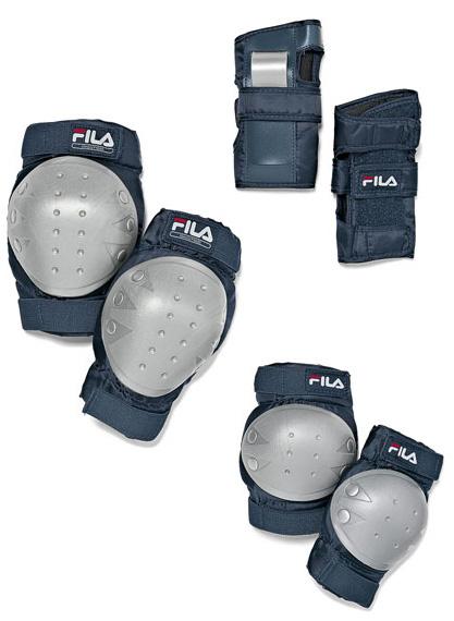 Купить Комплект защиты FILA Детская защита 3 пр Fitness Junior Pad Set, Защита, 741008