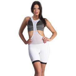 Велошорты BBB GirlTech bib short white (белый) (BBW-113)
