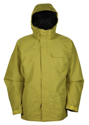 Куртка сноубордическая RIPZONE 2013-14 CORE SWITCHBACK JACKET - X-DYED Yellow