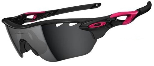 Очки солнцезащитные Oakley Radarlock Edge Polished Black w/Black Iridium&VR28
