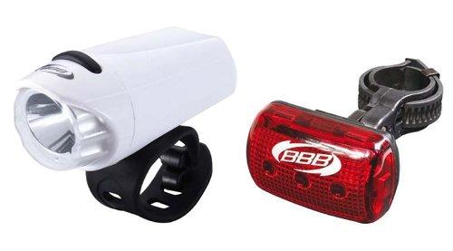 Купить Фонарь (комплект) BBB lightset EcoCombo WHT Фары и фонари 858072