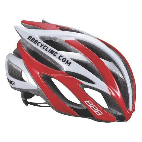 Купить Летний шлем BBB Falcon Team красно-белый М, Шлемы велосипедные, 851806