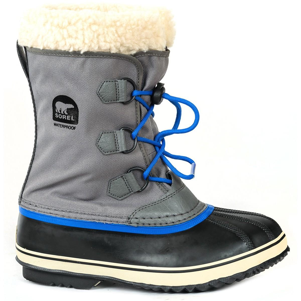 ботинки sorel для девочки, серые