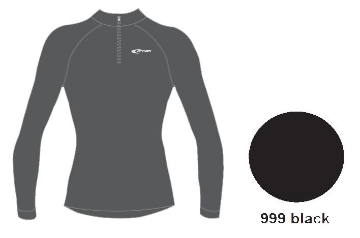 Купить Tecnosoft Plus Evo Techosoft Plus Evo Long Sl. T-Shirt 1/2 Zip Woman, Футболка С Дл. Рукавом Accapi Techosoft Plus Evo Long Sl. T-Shirt 1/2 Zip Woman Black, женский, Термобелье