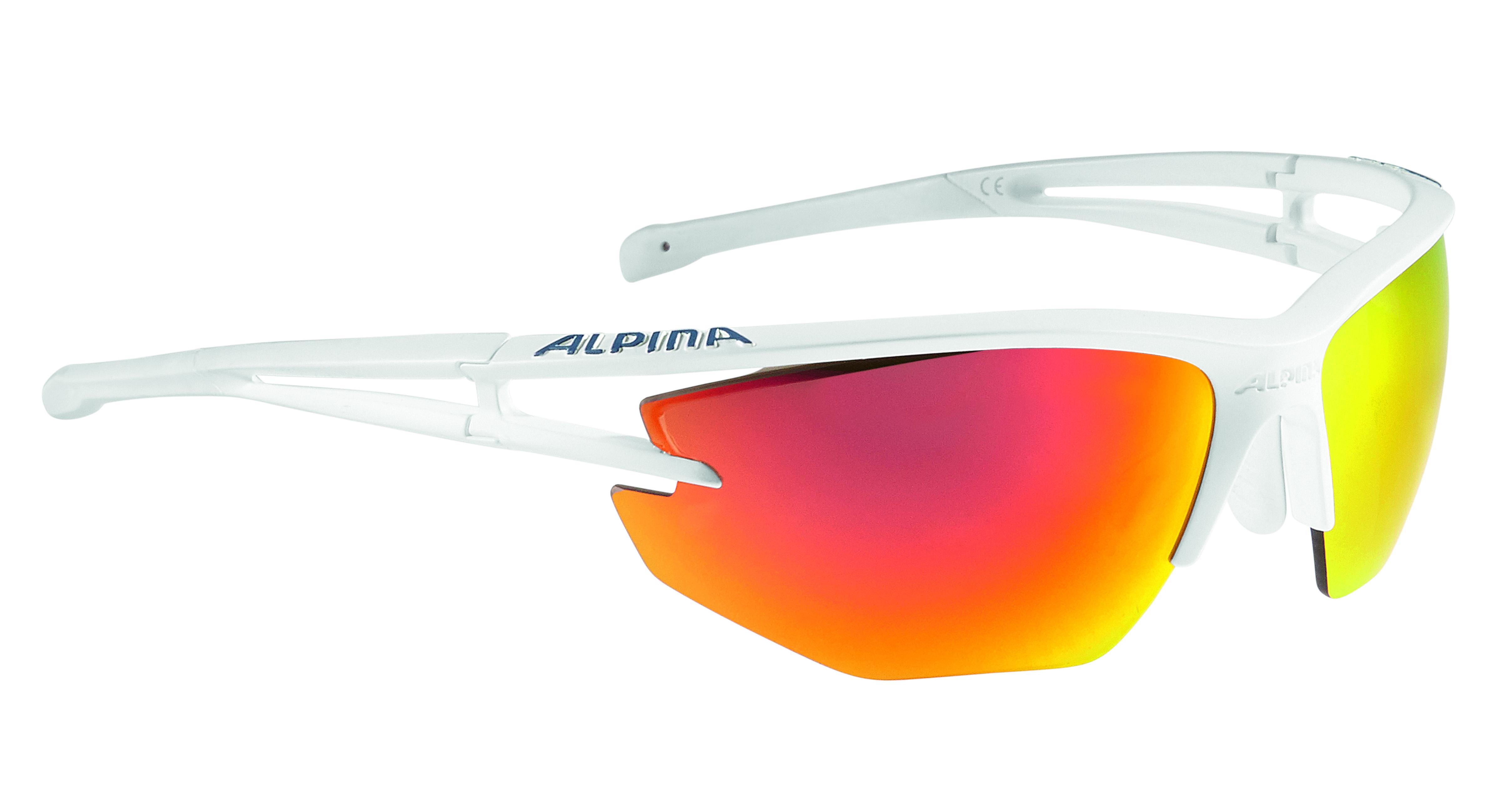 Купить Очки солнцезащитные Alpina 2017 ALPINA EYE-5 HR CM+ white matt, солнцезащитные, 1323634