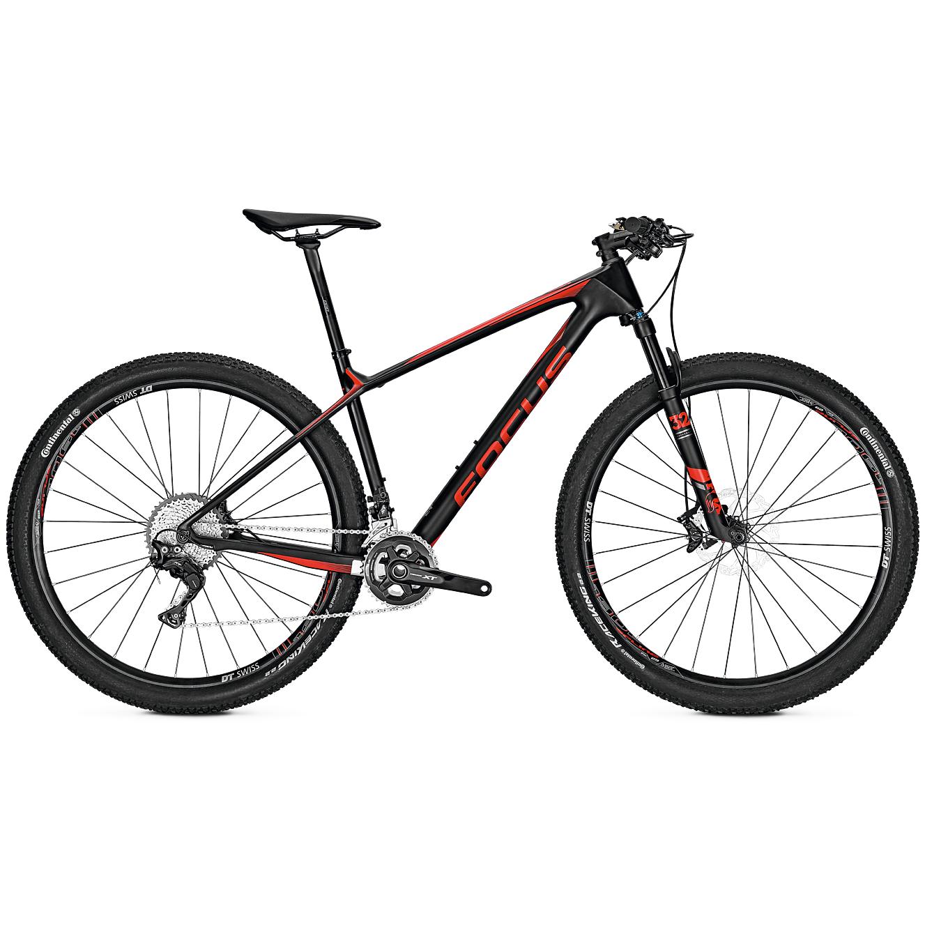 Велосипед Focus Raven Max Pro 2018 Carbon/redm