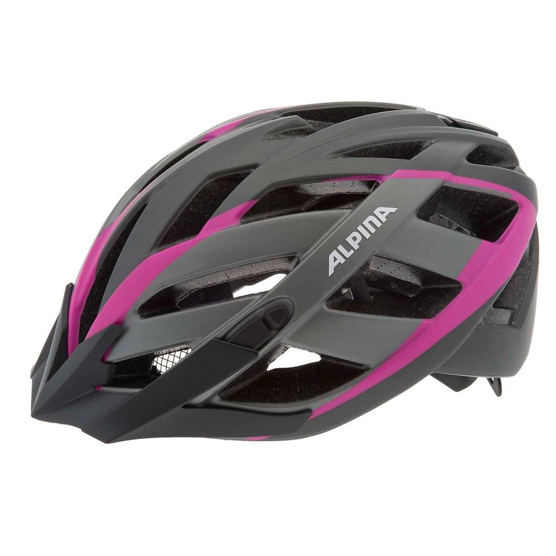 Велошлем Alpina 2018 Panoma L.E. titanium-pink, Шлемы велосипедные, 1180041  - купить со скидкой