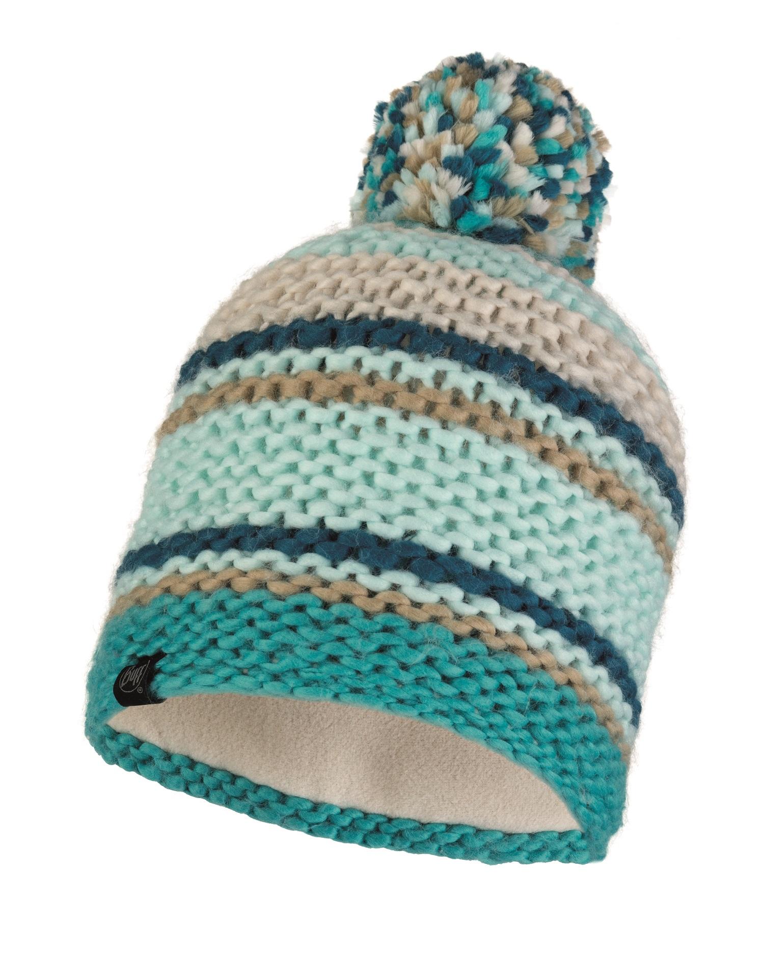 Шапка Buff Knitted & Polar Hat Dorian Aqua