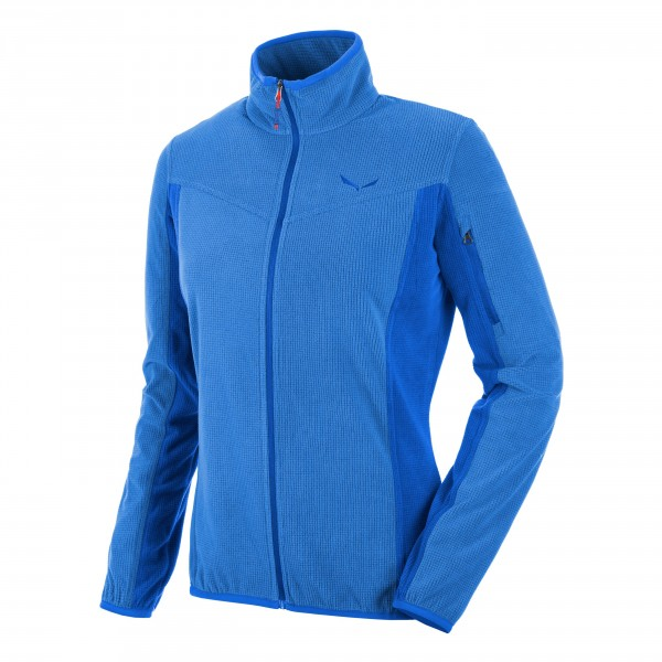 Купить Флис для активного отдыха Salewa 2016 PUEZ PLOSE 3 PL M FZ nautical blue/8860 Одежда туристическая 1233628