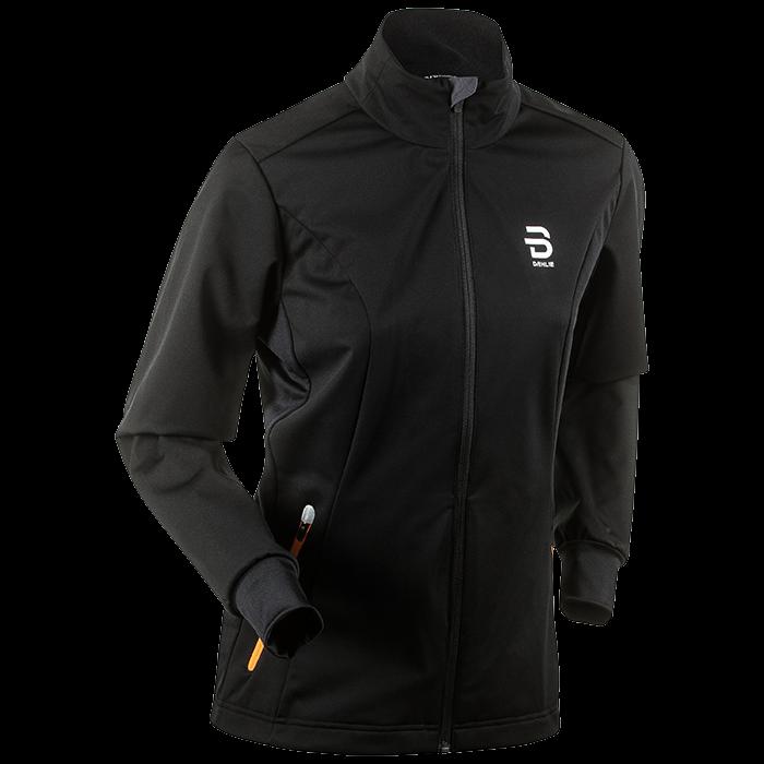 Купить Куртка Беговая Bjorn Daehlie 2017-18 Jacket Trysil Wmn Black, женский, Одежда для бега и фитнеса