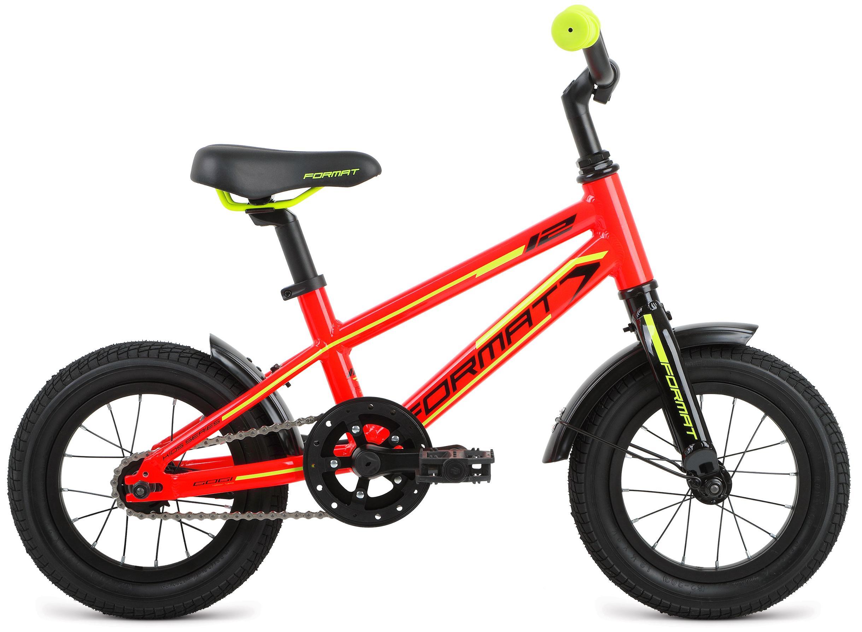 Велосипед Format Kids boy 12 2017 красный, До 6 лет (колеса 12 -18 ), 1321202  - купить со скидкой