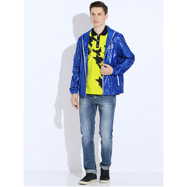 Купить Куртка для активного отдыха EA7 Emporio Armani 2014 271518/4P172 BALI BLU/синий Одежда туристическая 1135848