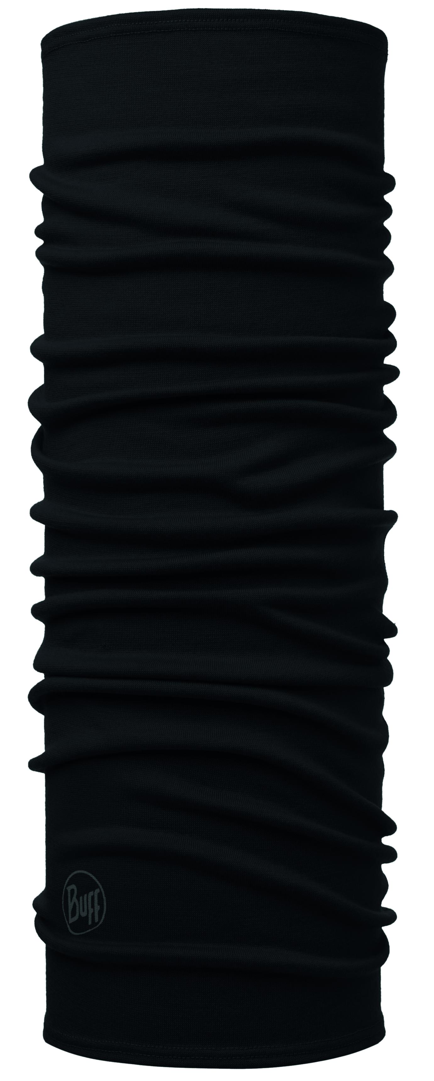 Бандана Buff Midweight Merino Wool Solid Black