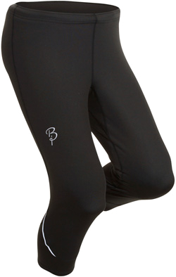 Купить Тайтсы беговые Bjorn Daehlie Tights STRIVE Mid Long (Black) черный Одежда для бега и фитнеса 669567