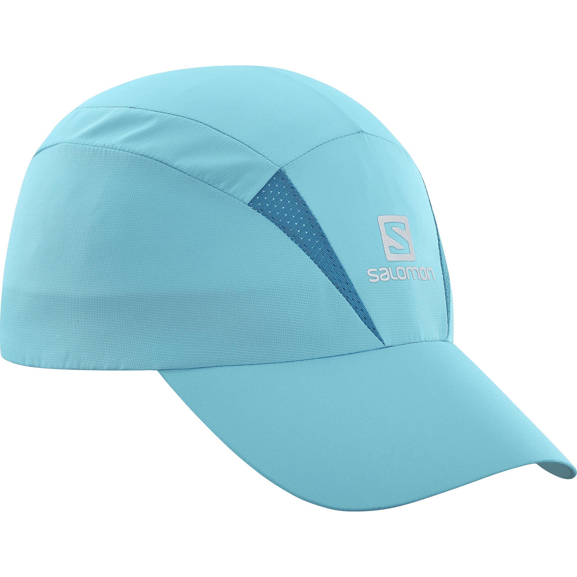 женская кепка salomon, синяя