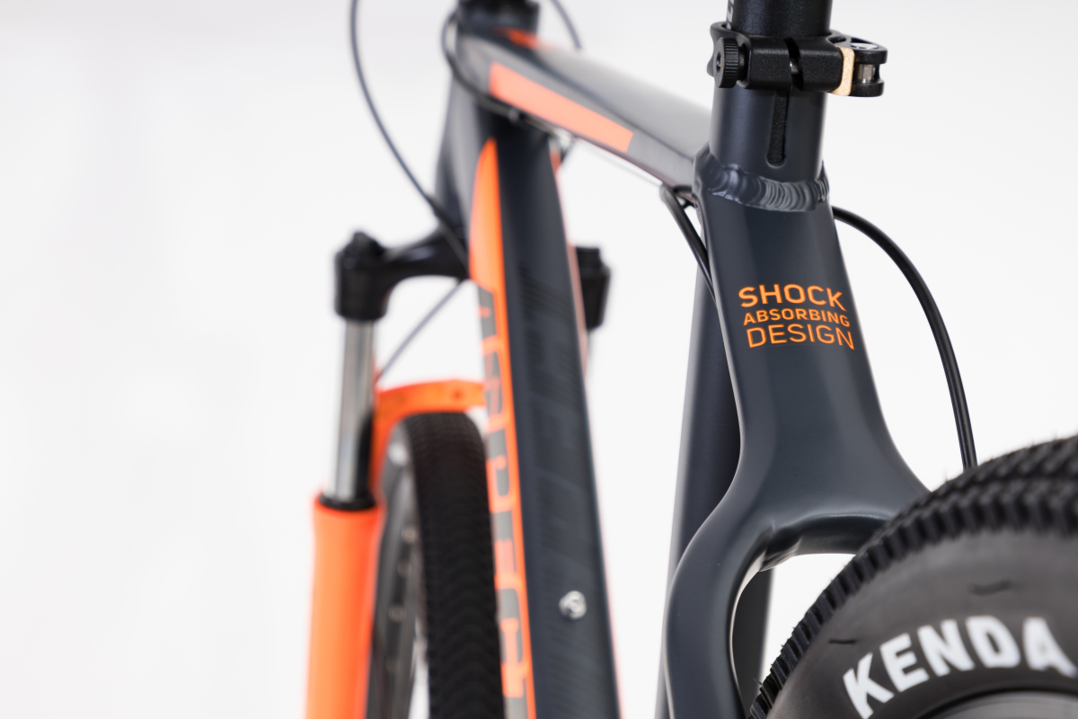 Велосипед Aspect Stimul 2017 Серо-Оранж.