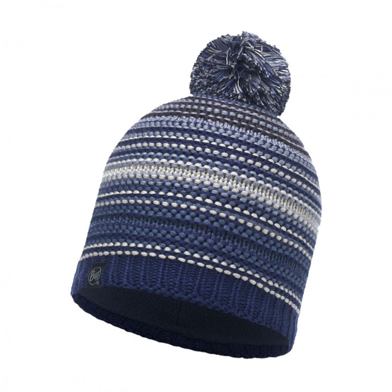 Купить Шапка BUFF KNITTED & POLAR HAT NEPER BLUE INK Банданы и шарфы Buff ® 1308658