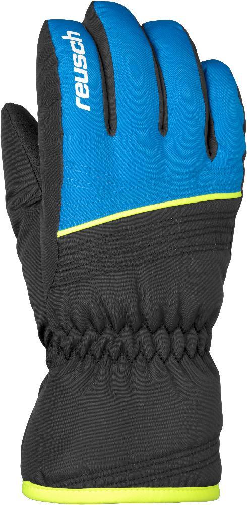 Купить Перчатки Горные Reusch 2017-18 Alan Junior Black / Briliant Blue, унисекс, Перчатки, варежки