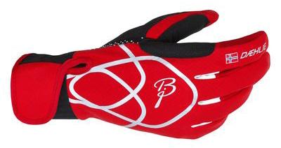 Купить Перчатки беговые Bjorn Daehlie Glove OLYMPIC Formula One/Black (красный/черный) Перчатки, варежки 774736