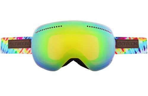 Купить Очки горнолыжные DRAGON 2014-15 APX TieDye/GoldIon+YellBluIon 1134832