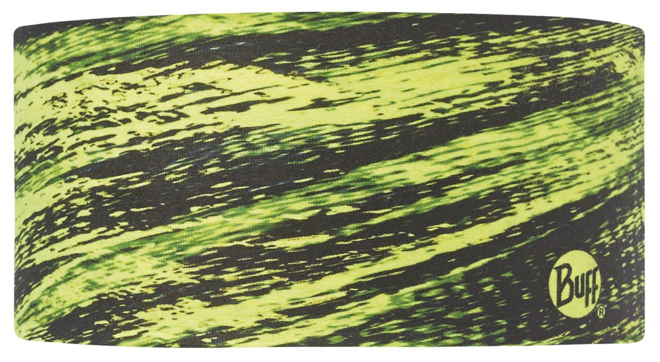 Купить Повязка BUFF Coolmax UV HEADBAND FRACT YELLOW FLUOR Банданы и шарфы Buff ® 1185567