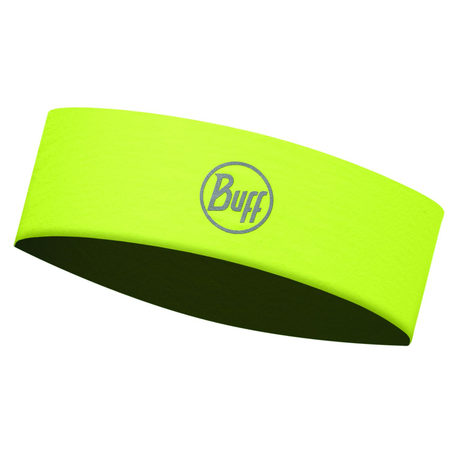 Купить Повязка BUFF Headband R-SOLID YELLOW FLUOR Slim Банданы и шарфы Buff ® 1312849