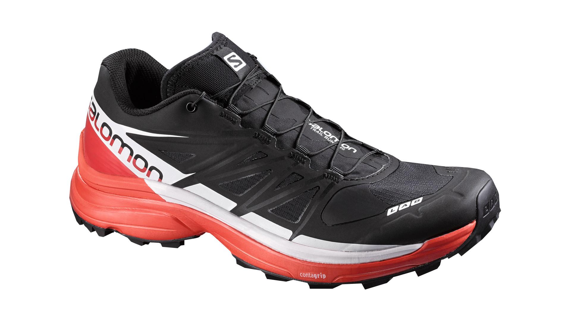 Купить Беговые кроссовки для XC SALOMON 2016-17 SHOES S-LAB WINGS 8 SG BLACK/RD/WH Кроссовки бега 1270584