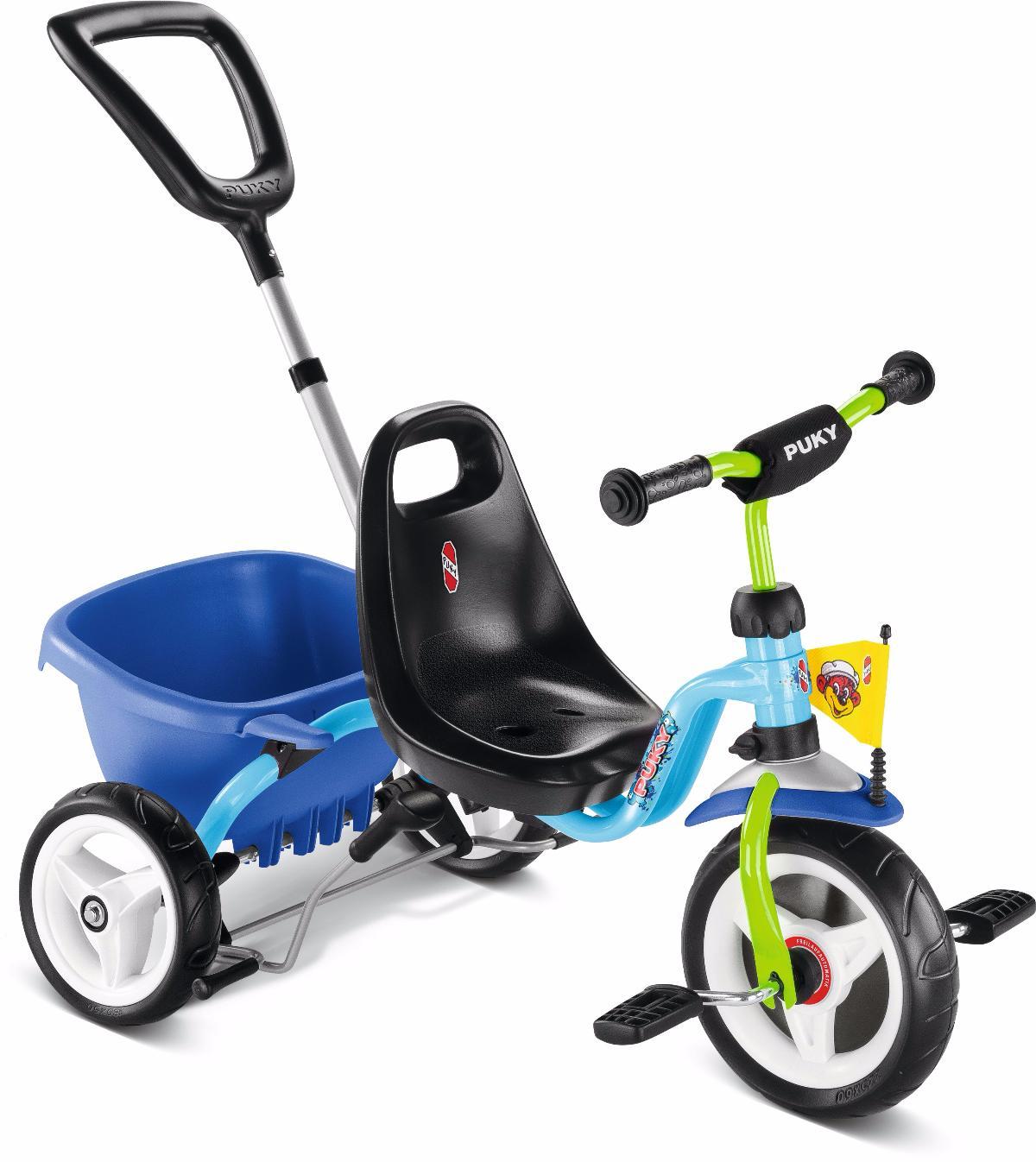 Велосипед Трехколесный Puky 2016 Cat 1 S Blue/kiwi