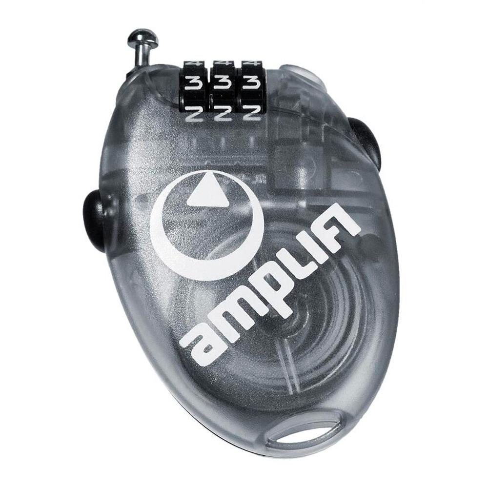 Замок Amplifi 2017-18 Wire Lock (Small) Clear Black