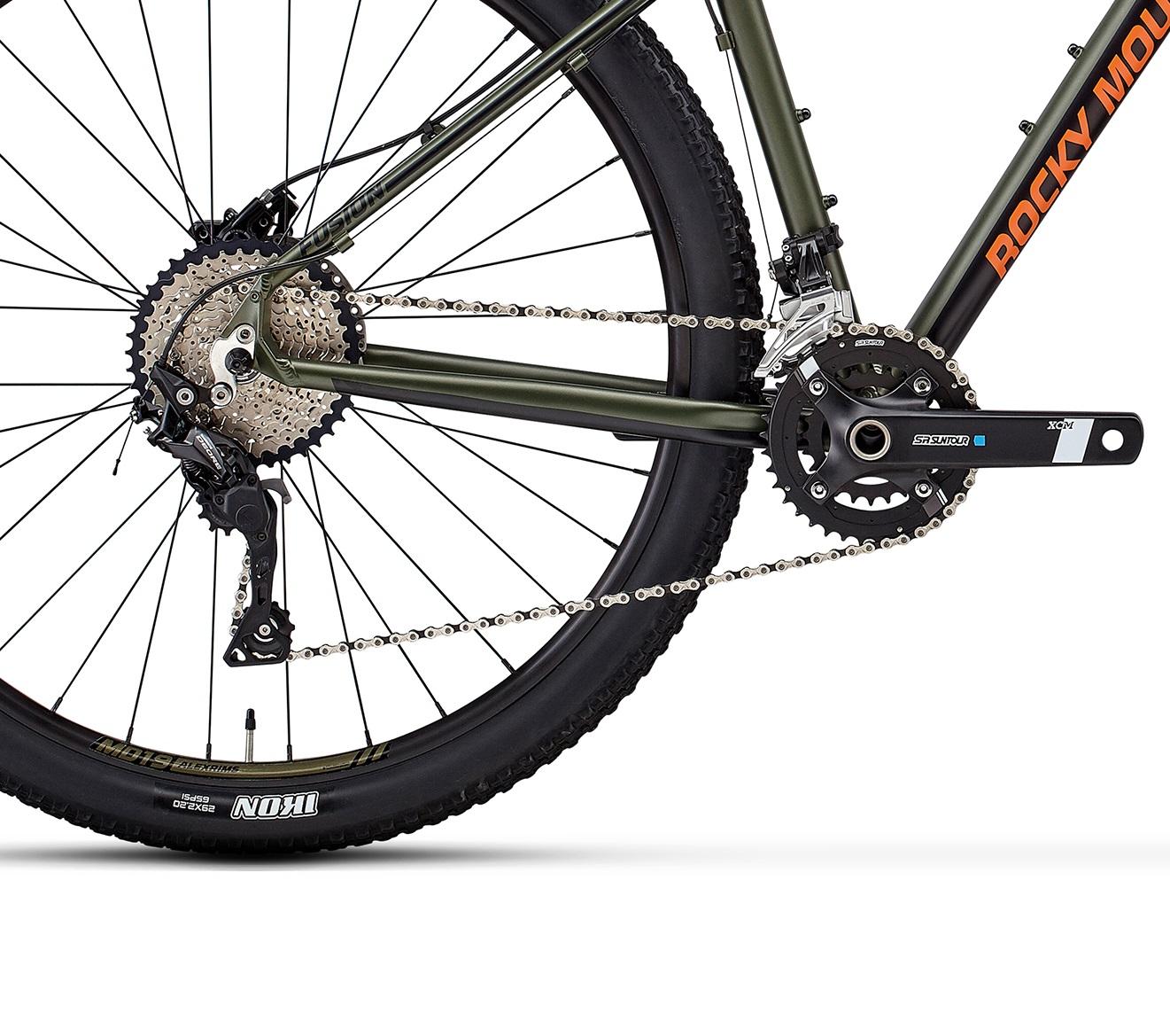 Велосипед Rocky Mountain Fusion 40 2018 Green/orange