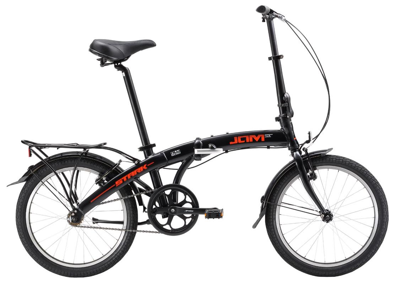 Купить Велосипед Stark Jam 20.1 SV 2017 Черно-Красный, Складные велосипеды, 1317848