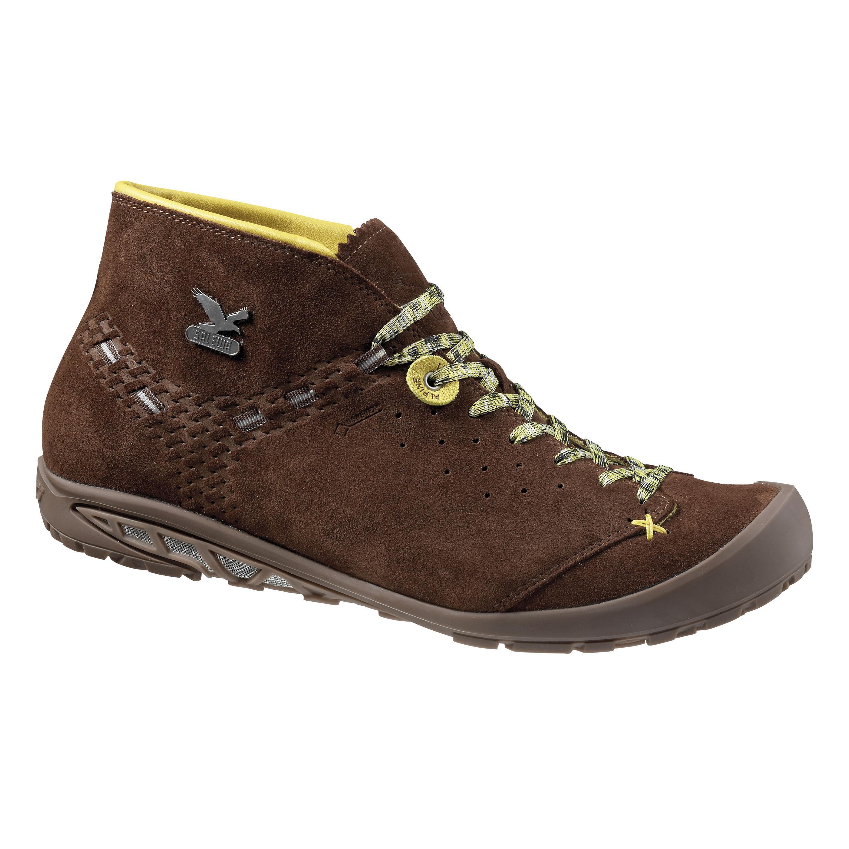 Купить Ботинки городские (высокие) Salewa Alpine Life MS ESCAPE MID GTX Chocolate/Gneiss Обувь для города 1090375