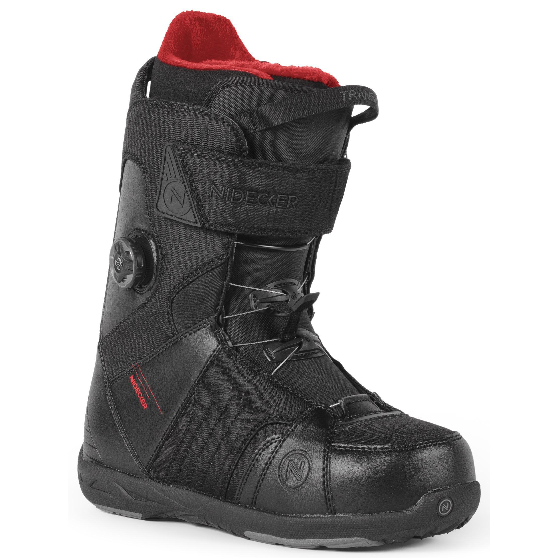 Ботинки для сноуборда NIDECKER 2017-18 TRANSIT BOA BLACK - купить ... a0baa23551f